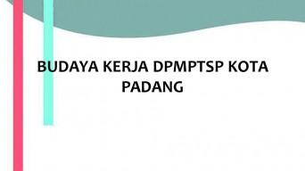 BUDAYA KERJA DPMPTSP KOTA PADANG | Dinas PM & PTSP