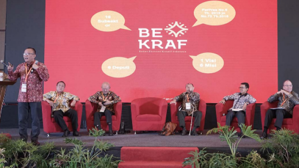 BEKRAF Dorong Ekonomi Kreatif di Padang, BI Siap Fasilitasi | Dinas PM & PTSP