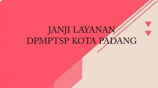 JANJI PELAYANAN | Dinas PM & PTSP