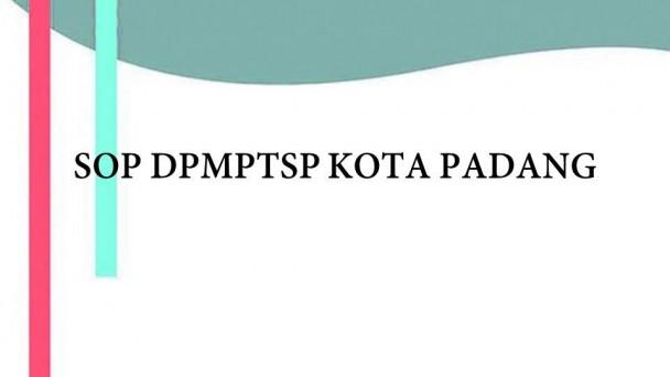 STANDAR OPERASIONAL PROSEDUR | Dinas PM & PTSP